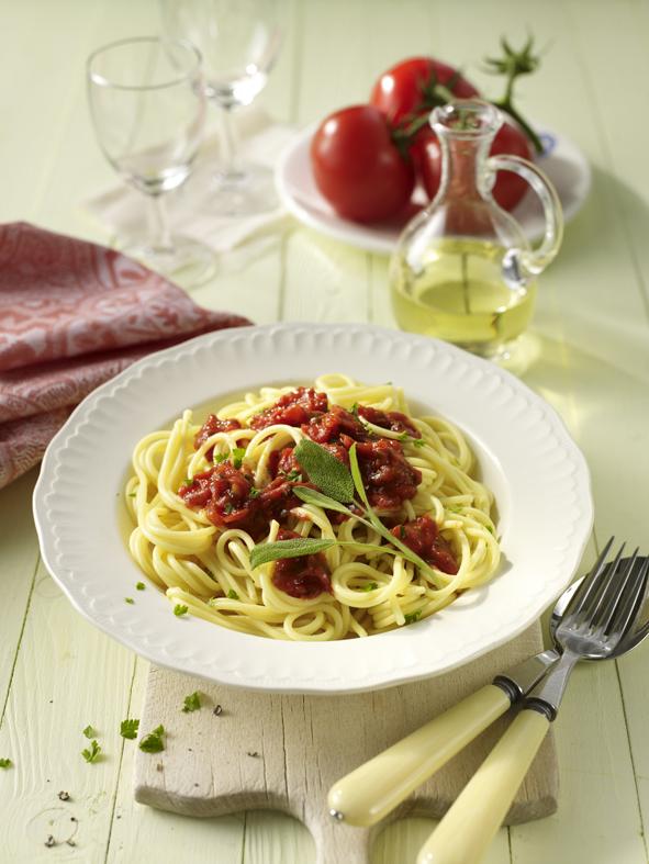 Veg. Spaghetti Napoli